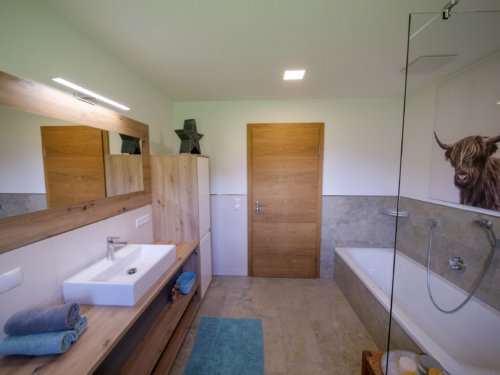 Appartement Zillertal - Appartement 1 - Badezimmer
