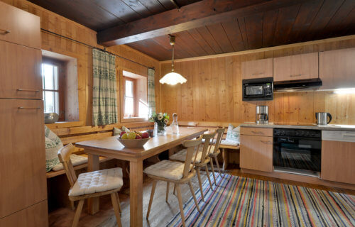 Selbstversorgerhaus Vorderes Zillertal 3 - Appartement 1 - Küche