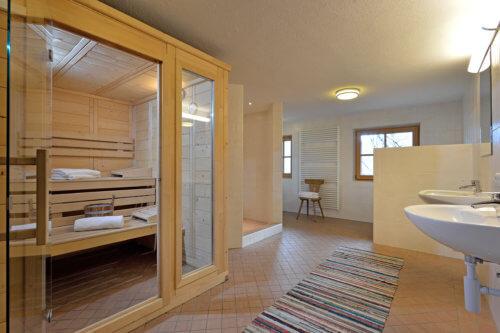 Selbstversorgerhaus Vorderes Zillertal 3 - Appartement 1 - Sauna