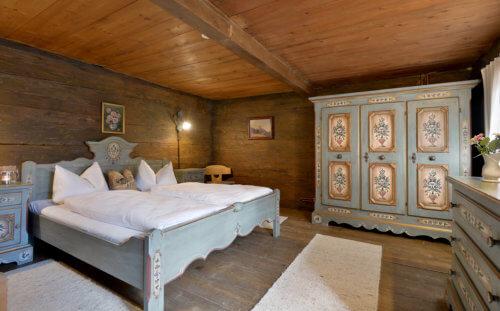 Selbstversorgerhaus Vorderes Zillertal 3 - Appartement 1 - Schlafzimmer