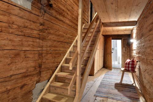 Selbstversorgerhaus Vorderes Zillertal 3 - Appartement 1 - Stiegenhaus
