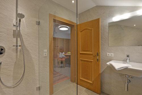 Bergchalet Mittleres Zillertal - Badezimmer