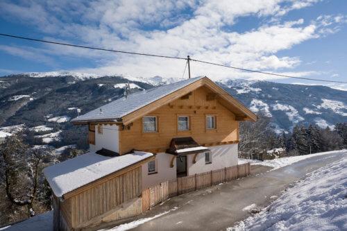 Bergchalet Mittleres Zillertal - Aussenansicht