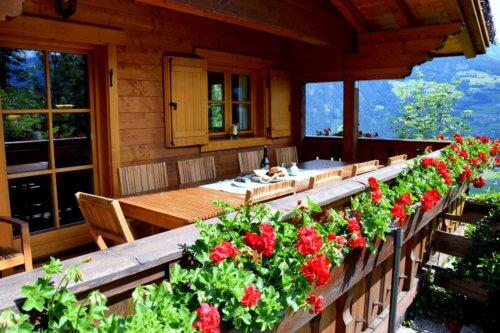 Bergchalet Mittleres Zillertal 2 - Terrasse