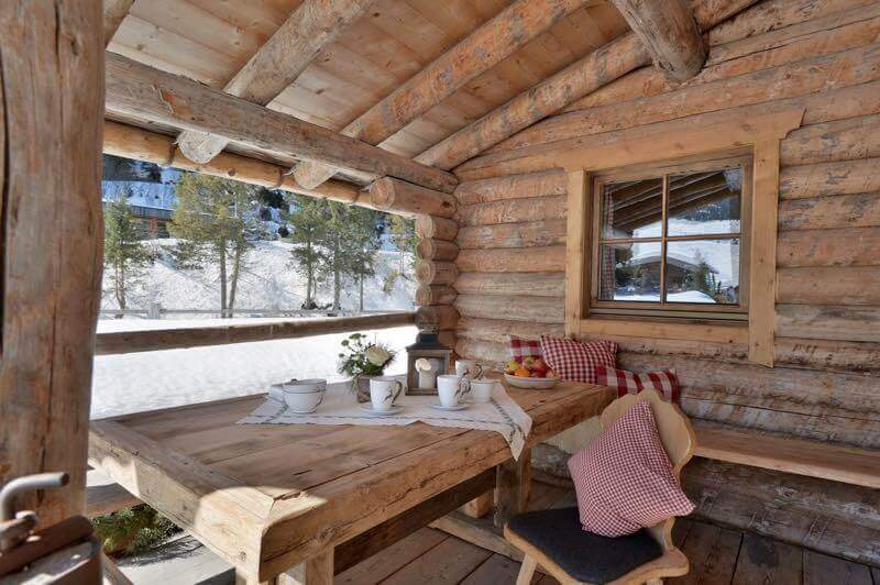 Berghütte Vorderes Zillertal 3 - Ganze Unterkunft - Terrasse