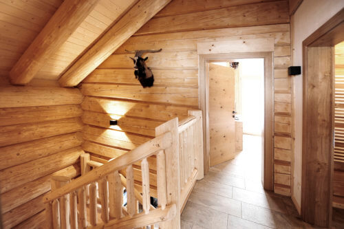 Berghütte Oberinntal - Ganze Unterkunft - Stiegenaufgang