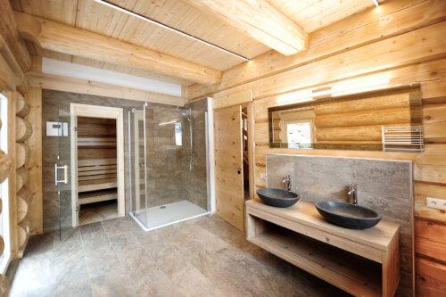 Berghütte Oberinntal 2 - Ganze Unterkunft - Badezimmer