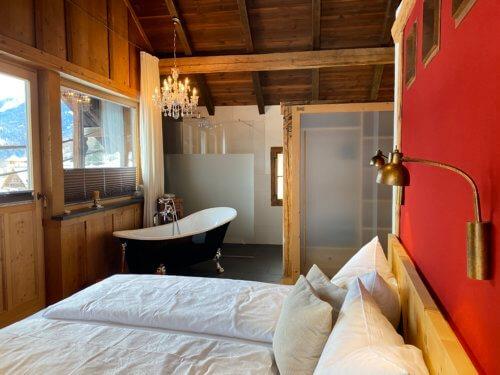 Exklusiv Chalet Serfaus Fiss Ladis - Ganze Unterkunft - Schlafzimmer
