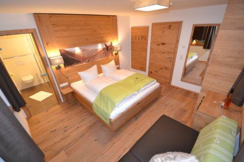 Exklusive Appartements Mittleres Zillertal - Appartement 1 - Schlafzimmer
