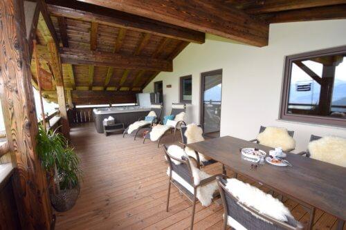 Exklusive Appartements Mittleres Zillertal - Appartement 2 - Balkon
