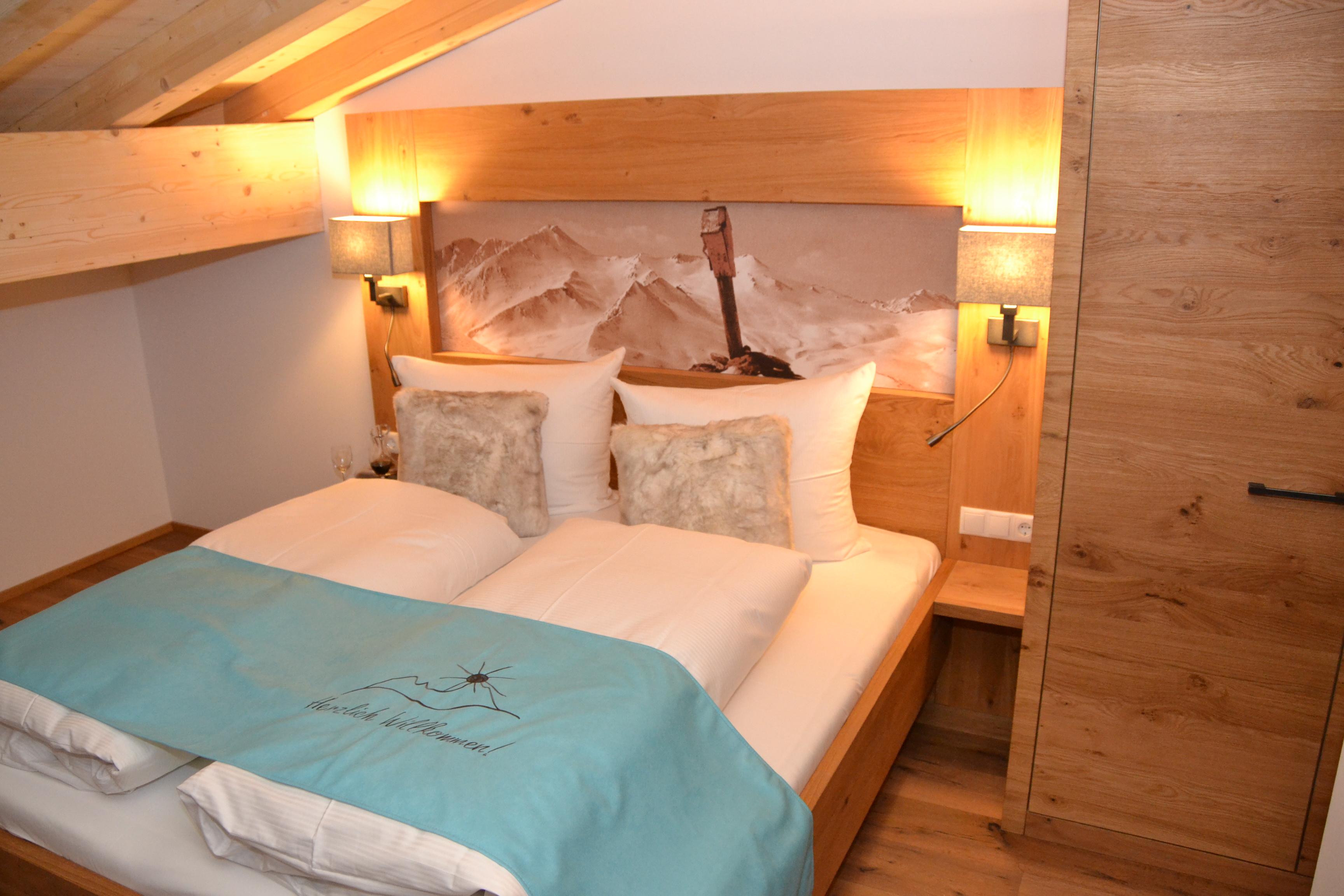 Exklusive Appartements Mittleres Zillertal - Appartement 2 - Schlafzimmer