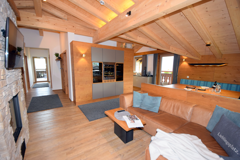 Exklusive Appartements Mittleres Zillertal - Appartement 2 - Wohnbereich