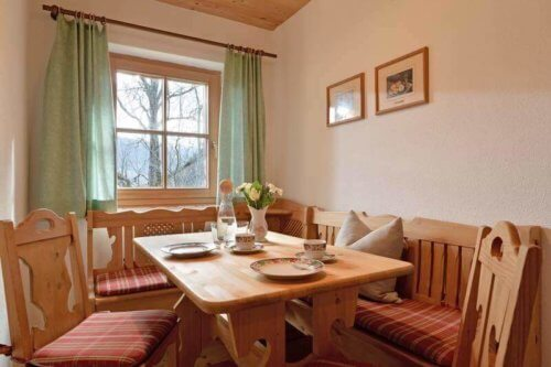 Ferienhaus Zillertal - Appartement 1 - Essecke