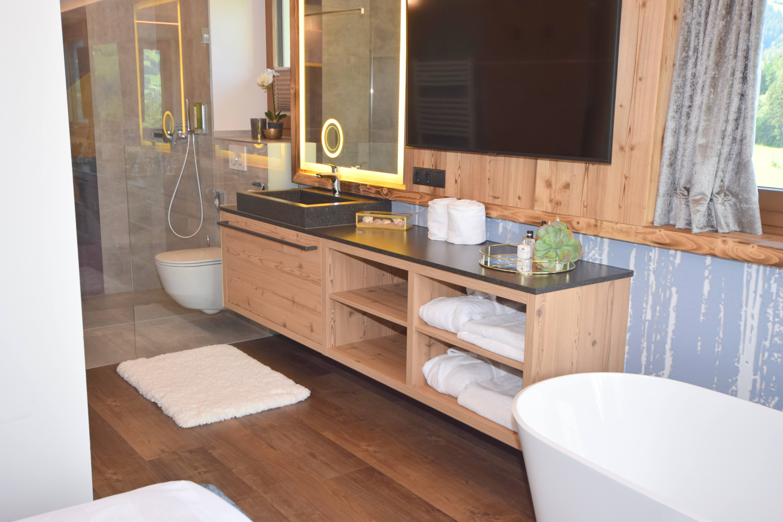 Ferienhaus Mittleres Zillertal 3 - Appartement 2 - Badezimmer