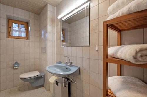 Selbstversorgerhaus Vorderes Zillertal - Appartement 1 - Badezimmer