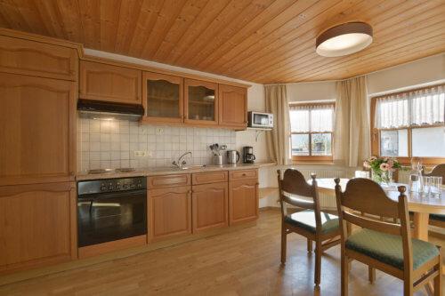 Selbstversorgerhaus Vorderes Zillertal - Appartement 2 - Küche