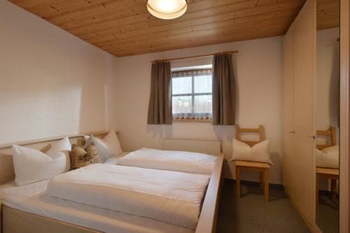 Selbstversorgerhaus Vorderes Zillertal - Appartement 3 - Schlafzimmer