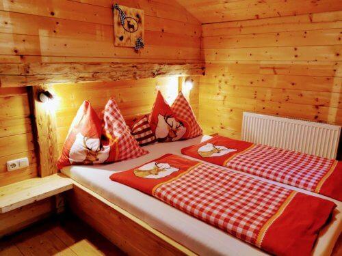 Hütte Mittleres Zillertal - Ganze Unterkunft - Schlafzimmer