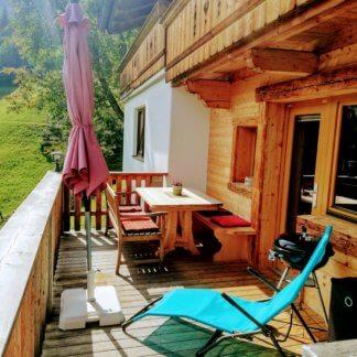 Hütte Mittleres Zillertal - Terrasse