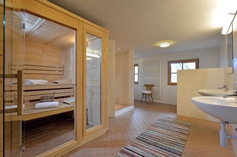 Selbstversorgerhaus Vorderes Zillertal 3 - Appartement 1 - Wellness