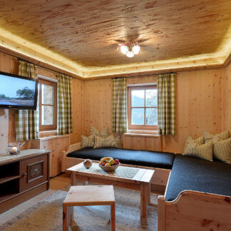 Selbstversorgerhaus Vorderes Zillertal 3 - Appartement 2 - Wohnzimmer
