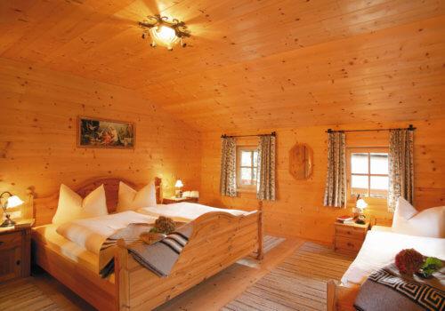 Selbstversorgerhaus Vorderes Zillertal 5 - Ganze Unterkunft - Schlafzimmer