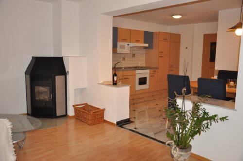 Selbstversorgerhaus Vorderes Zillertal 4 - Appartement 2 - Wohnbereich
